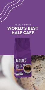 Ground Coffee Half Caff Coffee Pods Medium Roast Bagged Coffee Low Acid Kcups Keurig Peets Starbucks