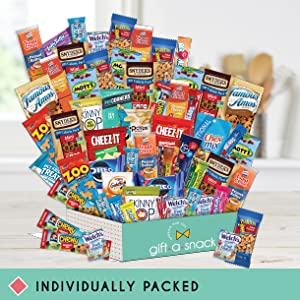 gift a snack care package