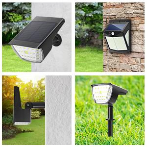 Adjustable Light & Solar Panel
