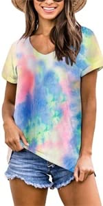 Tie Dyed T Shirts