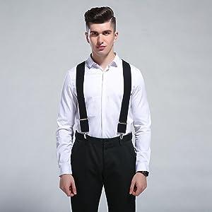 Y-Back suspender black