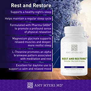 Amy Myers MD Rest and Restore Sleep Supplement