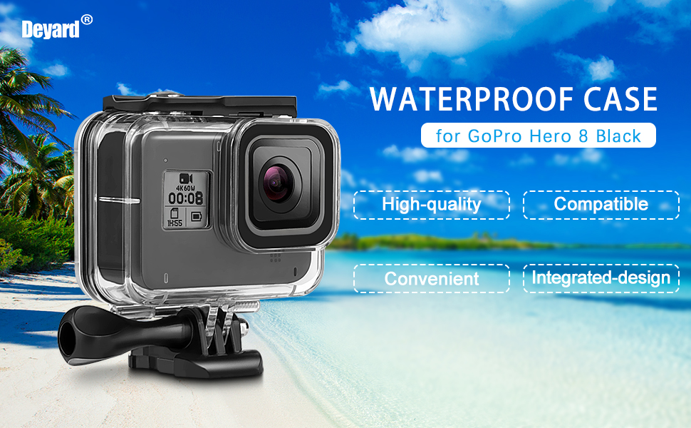 Waterproof Case for GoPro Hero 8