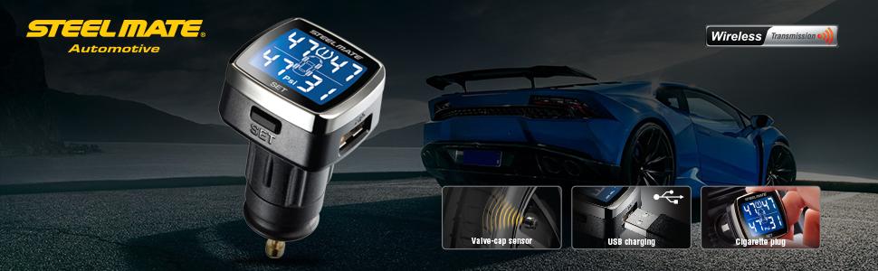 STEELMATE Tire Pressure Monitoring System