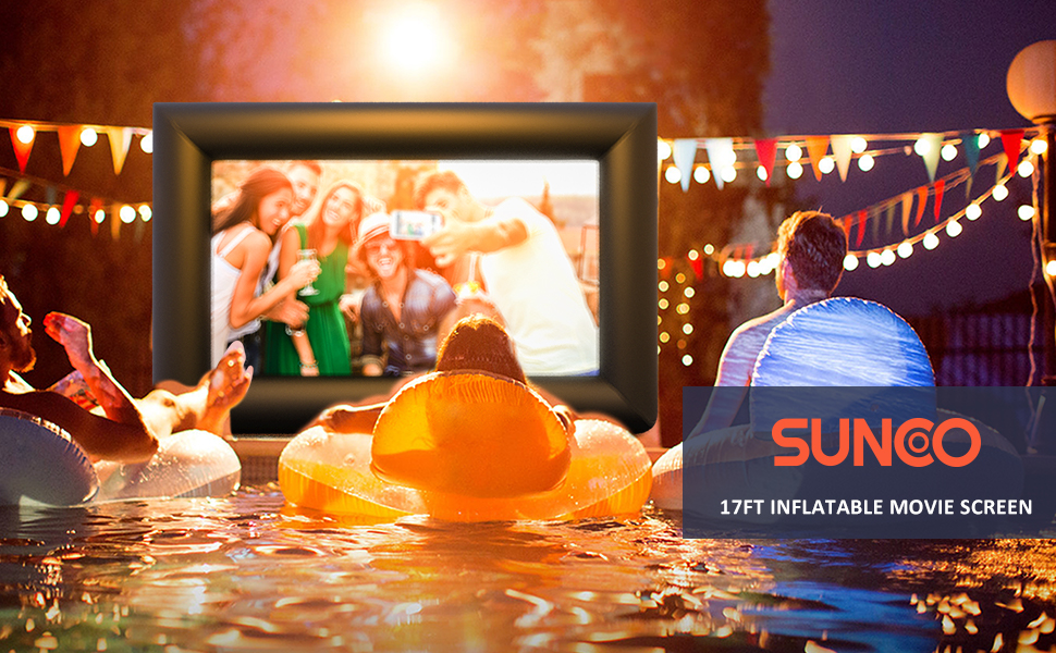 inflatable movie screen OUTDOOR