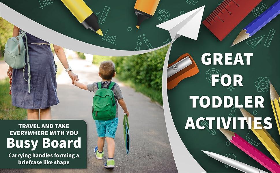 kids Travel toy toddler activities