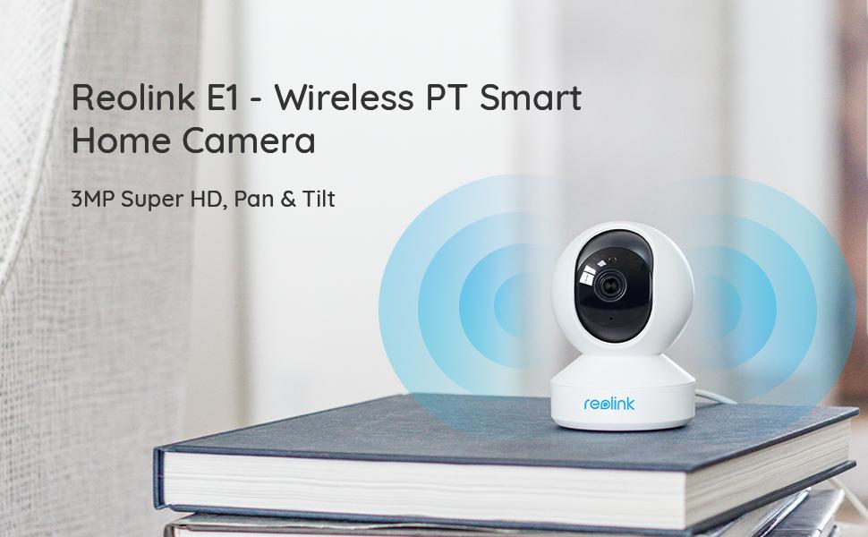 E1 wireless PT home camera