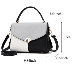 girls shoulder bags black and cheap