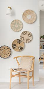 Woven Wall Basket Decor