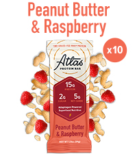 Atlas Bar Peanut Butter and Raspberry