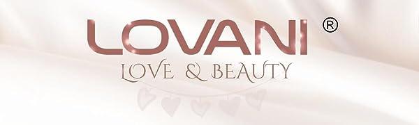 lovani TITANIUM FLAT IRON professional salon hair straightener nano titanium hair flat iron