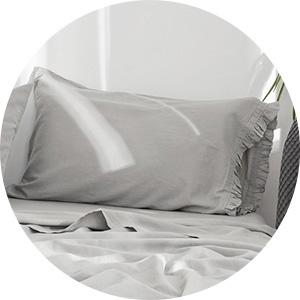 linen cotton pillowcases