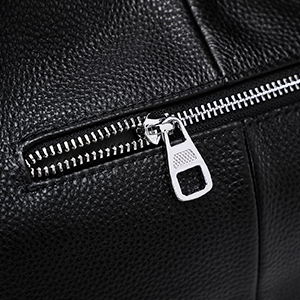 Back Zipper Pocket