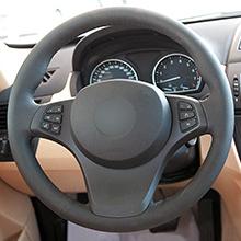 Original steering wheel photo: