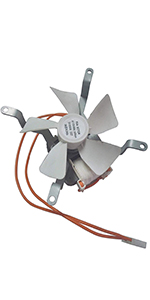 BOB/'s Replacement Combustion Fan for Pit Boss Wood Pellet Grill SKU 70133