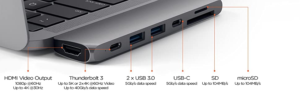 USB-C変換 USB-Cハブ Macアダプター USB-Cアダプター Apple 周辺機器 サテチ Satechi Type-C変換 MacUSBハブ Type-Cハブ USBCハブ PD