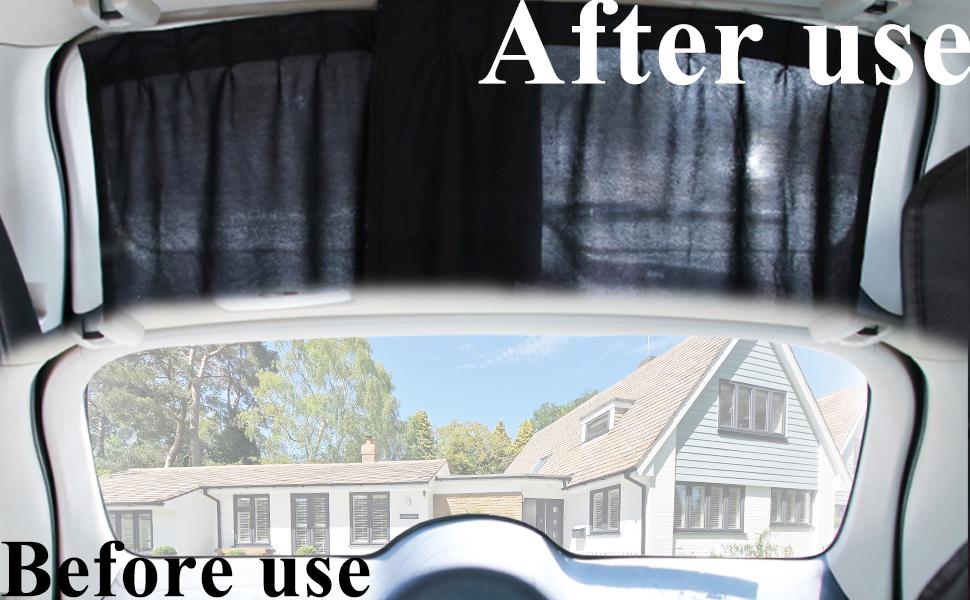 Car Rear Window Sun Shade