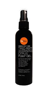 Tired Feet Deodorizing Citrus Pump Gel