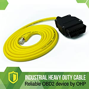 ethernet cable bmw GT X3 G-series enet interface obd 16pin 16 pin esys icom e sys e-sys coding