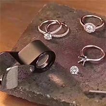 MABELLA Eternity wedding ring band set