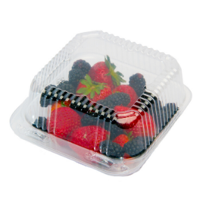 Reusable plastic container