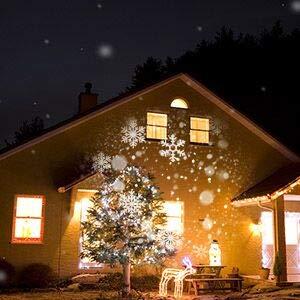 snowfall light projector