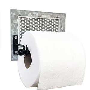 Galvanized Toilet Paper Holder