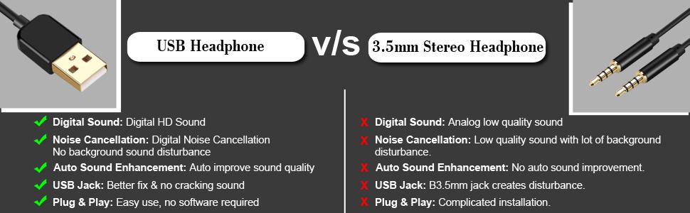 BigPassport Pro-Tech 491 USB Headphone