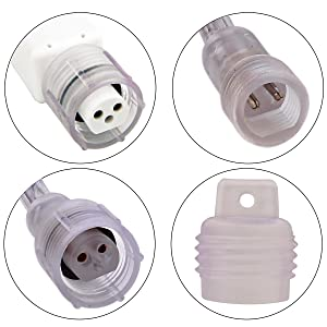 connectable rope lights