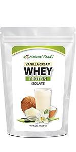 Vanilla Whey Isolate