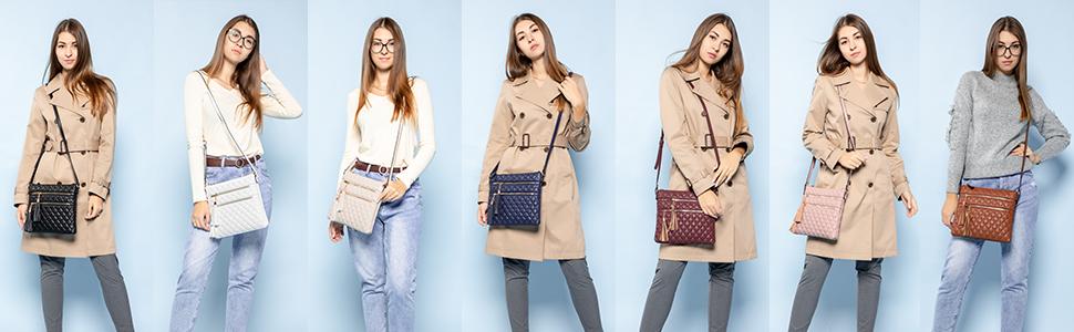 purses and handbags crossbody for women