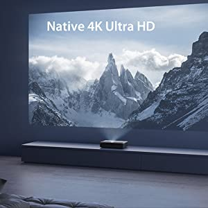 Native 4K Ultra HD