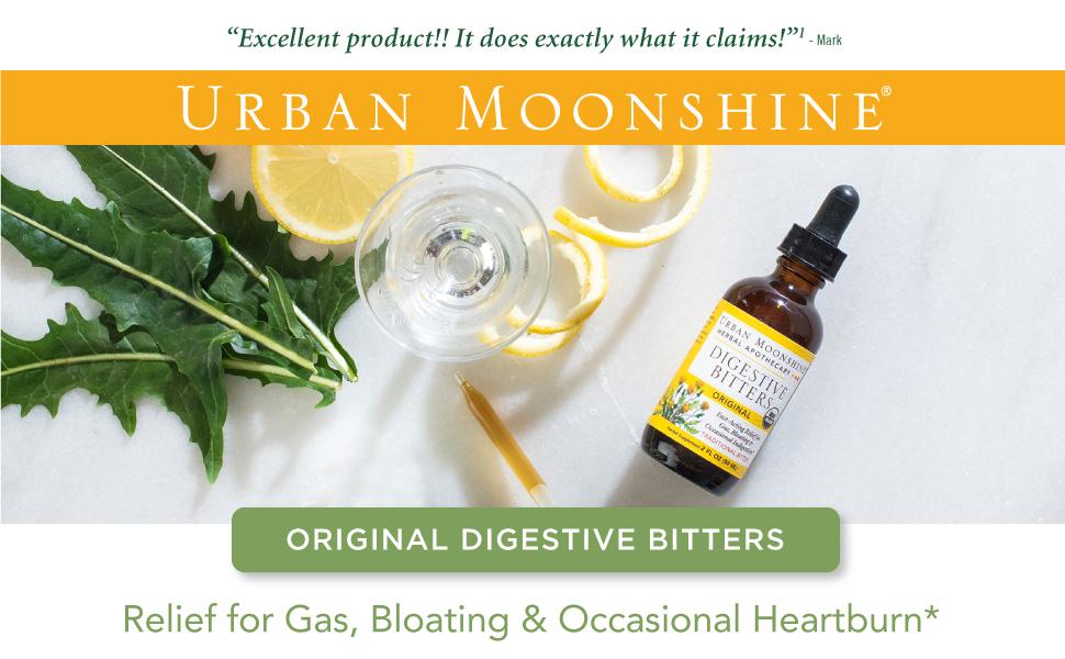 urban moonshine digestive bitters,urban moonshine,herbal supplement,organic herbal supplement