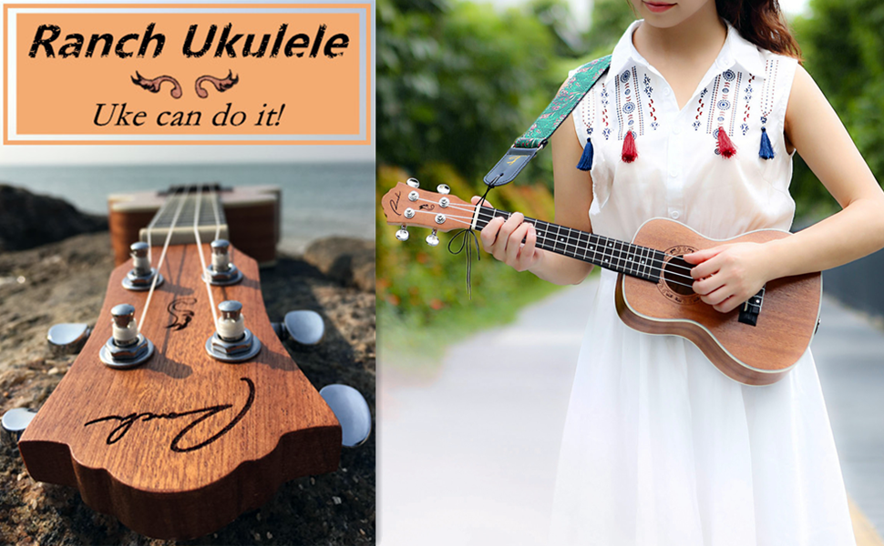 Ranch left haned ukulele