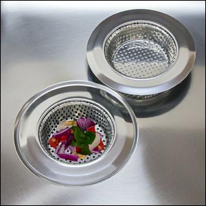 kudret kitchen sink drain strainer drainer stainless steel anticlog garbage disposal cover catcher