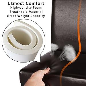 utmost comfort