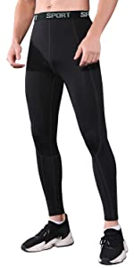 Men's Compression Pants Tights and Leggings