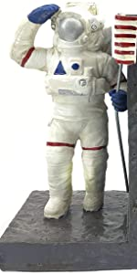 Astronaut Decorative Bookends  Space Home Office Modern Designed Holders  Heavy Books Stoppers