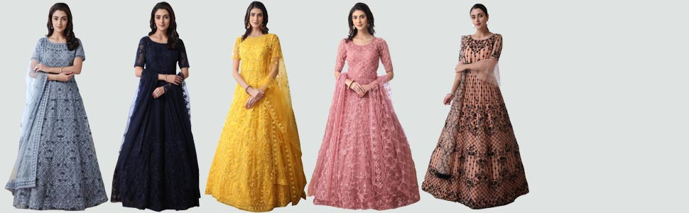 latest gown for women 2020 stylish