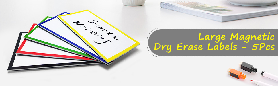 dry erase labels