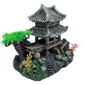 Realistic Details Castles Ornament