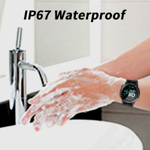 IP67 waterproof chargeable smartwatches