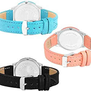 leathers Strap Watch