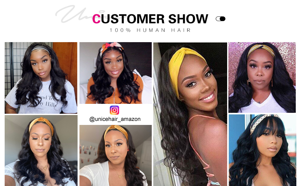 Heaband wig human hair body wave wig for black women