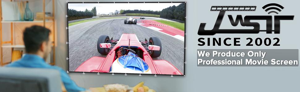 JWSIT Projector Screen 120 inch