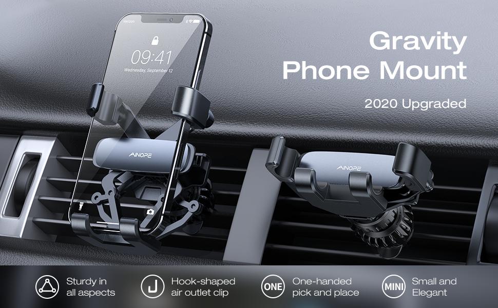gravity phone holder for car phone holder mount