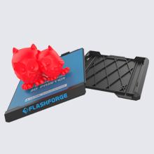 Slide-in build plate. Easier 3D prints removal
