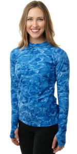 women swim rashguard shirt protection plus adult sun upf guard aqua long sleeve swimsuit athletic uv