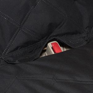 flap belt opening
