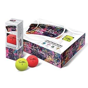 Golf ball, tour golf ball, premium golf ball, best golf ball, tour, PGA, golf, colored golf ball